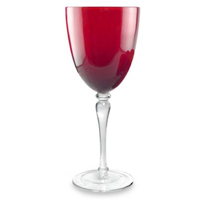 Aldrich Ruby 12-Ounce Wine Glass