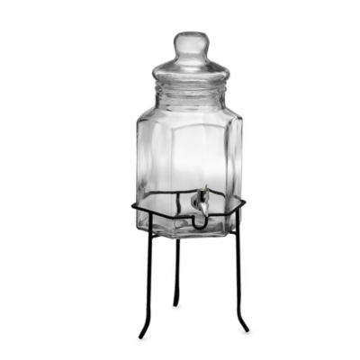 Del Sol 6-Quart Cold Beverage Dispenser with Stand