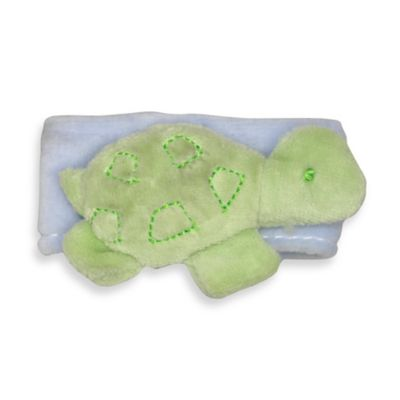green sprouts® by i play.® Organic Wrist Rattle in Turtle