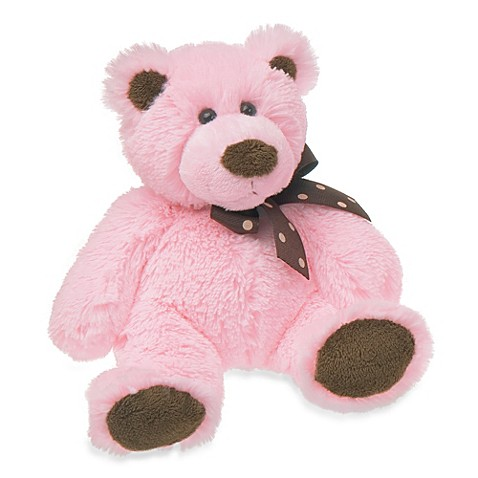 Mary Meyer® Sweet Chocolate 8-Inch Plush Bear in Pink