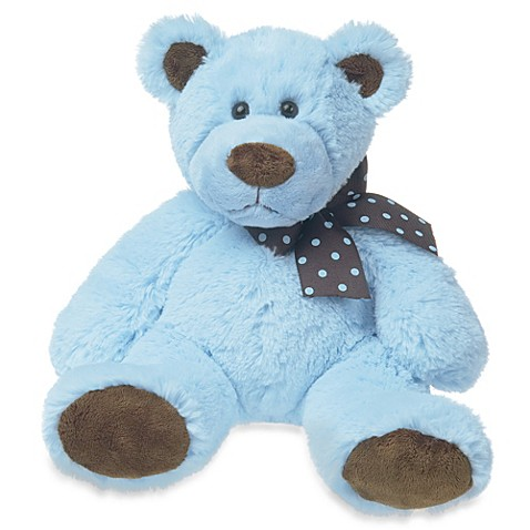 Mary Meyer® Sweet Chocolate 11-Inch Plush Bear in Blue