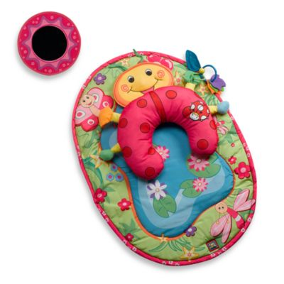 Play Gyms > Tummy-Time Ladybug Pillow & Mat by Tiny Love®