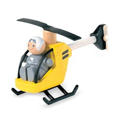 PlanToys® Helicopter with Pilot