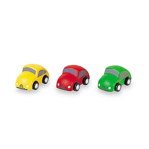 PlanToys® Mini Cars (Set of 3)