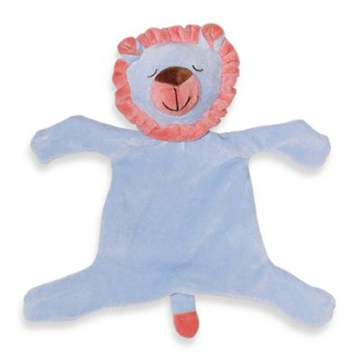 green sprouts® by i play.® Organic Blue Lion Blankie