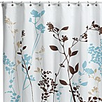 Reflections 72-Inch x 72-Inch Fabric Shower Curtain in Floral