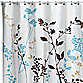 Reflections 72-Inch x 84-Inch Fabric Shower Curtain in Floral
