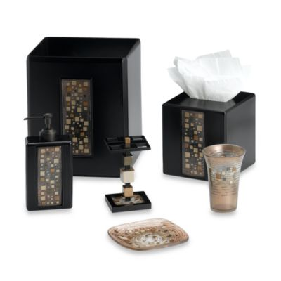 Croscill Mosaic Tile Boutique Tissue Holder