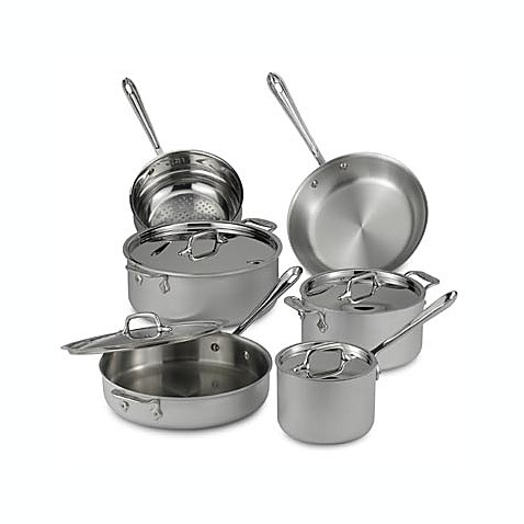 All-Clad Master Chef II 10-Piece Cookware Set and Open Stock