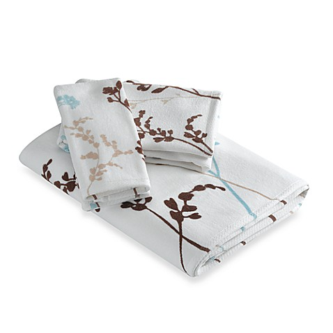 Reflections Floral Hand Towel Bed Bath Beyond