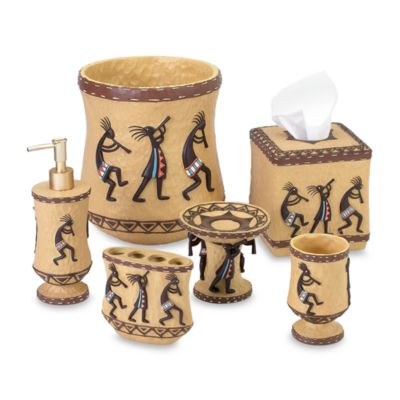 Avanti Kokopelli Boutique Tissue Holder