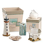 Coastal Collage Boutique Tissue Holder