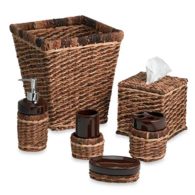 Brown Waste Basket