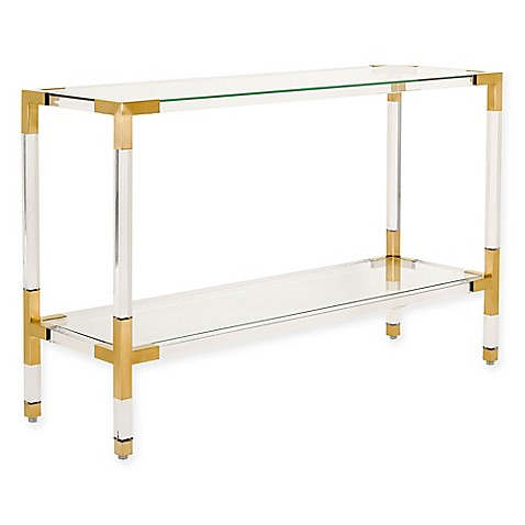 Safavieh Couture Averne Acrylic Console Table