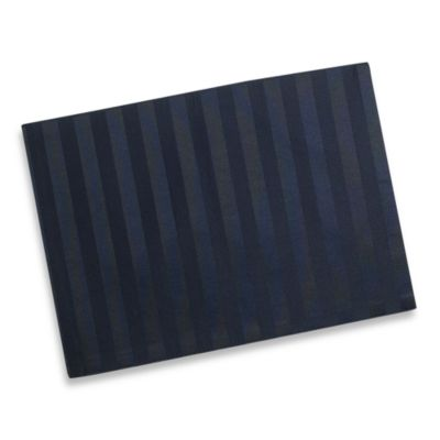 Chateau Stripe Placemat in Navy