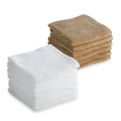 Tranquility Washcloths in White (Set of 6)