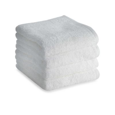 Tranquility Hand Towels in White (Set of 4)