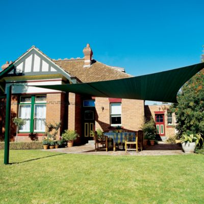 Coolaroo® Triangular Shade Sails in Brunswick Green