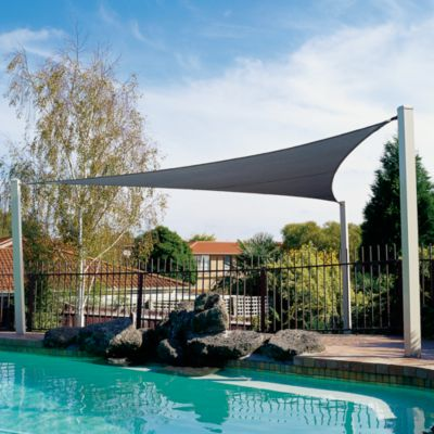 Coolaroo® Ocean Blue Triangle Shade Sail