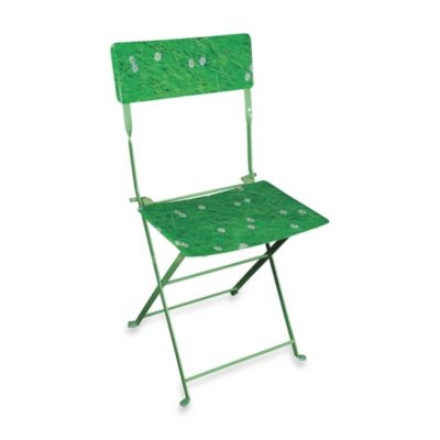 Field of Grass Folding Chair