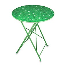 Field of Grass Folding Table