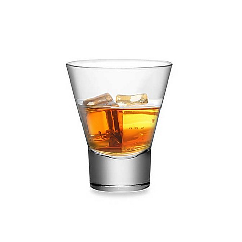 Bormioli Rocco Ypsilon Party 11 1/4-Ounce Double Old Fashioned (Set of 4)