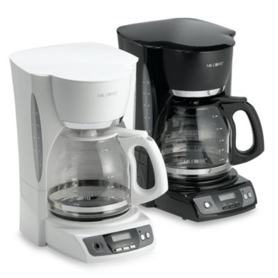 Mr. Coffee® 12-Cup Programmable Coffee Maker in Black