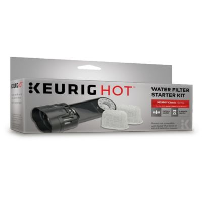 Keurig® Water Filter Assembly and Two Charcoal Refills