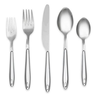 Cambridge® Silversmiths Marvel Chrome 20-Piece Flatware Set with Rack