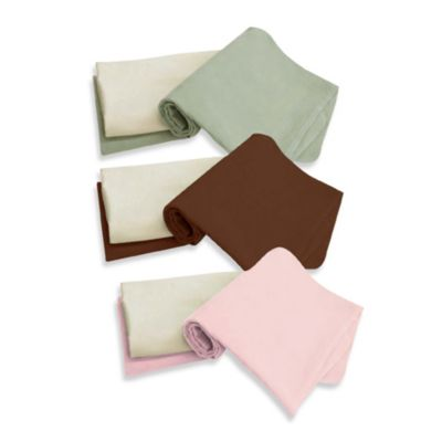 Tadpoles™ 3-Piece Blanket Set - Brown