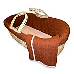 Tadpoles™ Brown Cable Knit Moses Basket