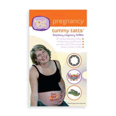 Tummy Tatts by ProudBody Pregnancy Art (Set of 2)