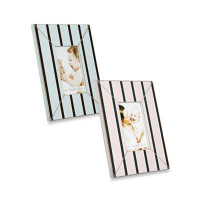 Argento Stripes 4-Inch x 6-Inch Photo Frame