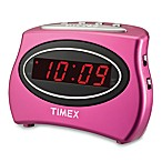 Timex® Extra Loud Alarm Clock in Pink