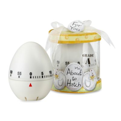 Kate Aspen® About to Hatch Kitchen Egg Timer Baby Shower Favor
