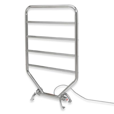 Traditional Towel Warmer and Dry Rack - Satin Nickel