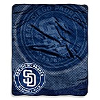 San Diego Padres Raschel Throw