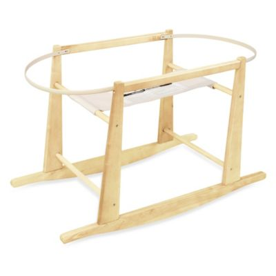 Moses Baskets > Jolly Jumper® Rocking Moses Basket Stand in Natural