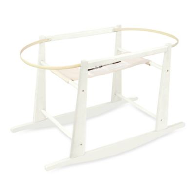 Moses Baskets > Jolly Jumper® Rocking Moses Basket Stand in Antique White