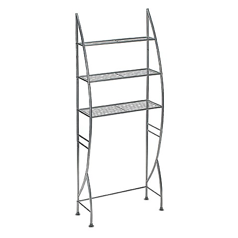 Buy 3 Tier Metal Space Saver In Nickel From Bed Bath Amp Beyond