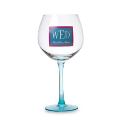 "Fine Whines WED ""Worth Every Dime"" 20-Ounce Wine Glass"