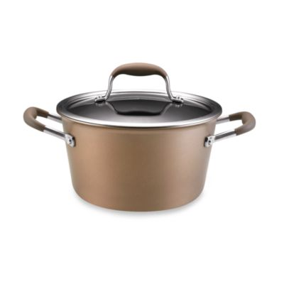 Anolon® Advanced Bronze 4 1/2-Quart Covered Tapered Stockpot