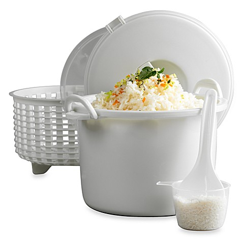 Infuse 174 15 Cup Microwave Rice Cooker Set By Tabletops