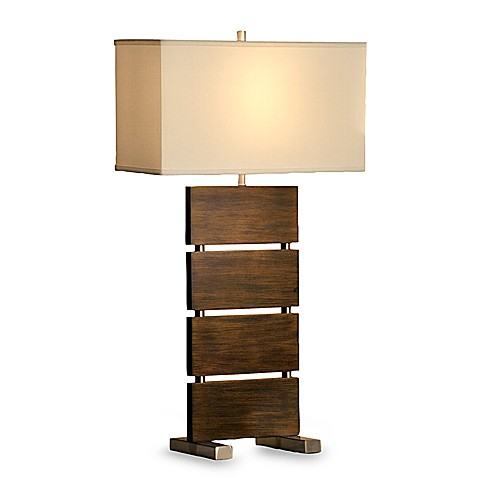 Divided Standing Table Lamp