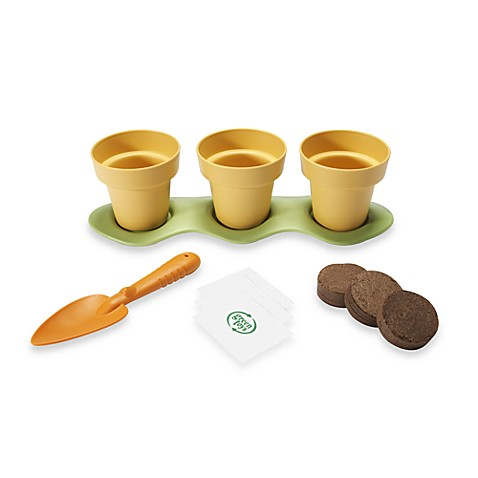 Indoor gardening kit by green toys bed bath beyond for Indoor gardening kit green toys