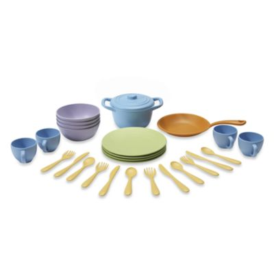 Playsets > Cookware and Dining Play Set by Green Toys™