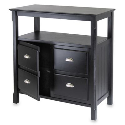 Riley Buffet Table in Black