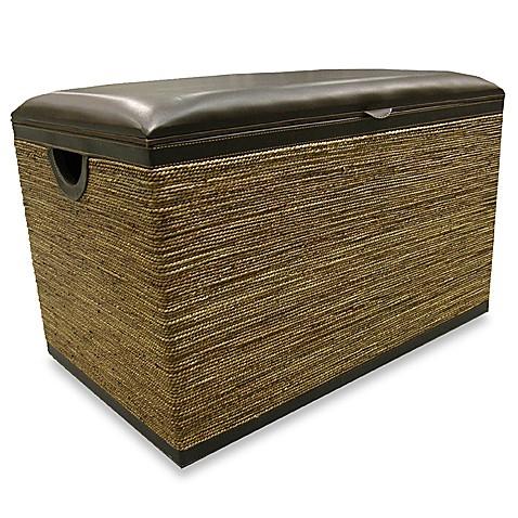 Seagrass Storage Bench Bed Bath Beyond