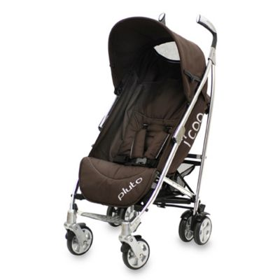 i-Footcoo Pluto Stroller by Grand TouRing Baby in Brown
