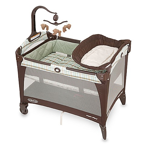 Graco 174 Pack N Play 174 Portable Playard In Brentwood Bed